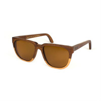 Bonnie/Clyde Two-Tone Hardwood Sunglasses