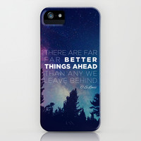"""CS Lewis """"Better Things Ahead"""" iPhone & iPod Case by Pocket Fuel"""