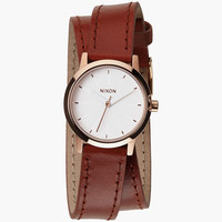 Nixon Kenzi Wrap Watch Rose Gold/Saddle One Size For Women 25953644901