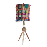 Recycled Woven Lamp
