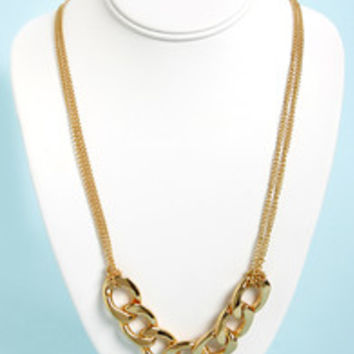 Chain-ge Your Mind Gold Chain Necklace Set