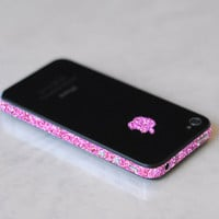 iPhone 4 GSM AT&T Antenna Wrap (Sparkling Pink)