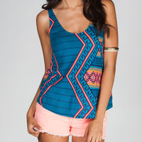 Hurley Aces Womens Cami Blue Combo  In Sizes