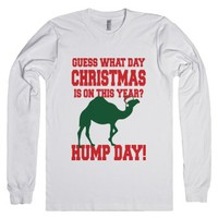 Guess What Day Christmas Is On This Year?-Unisex White T-Shirt