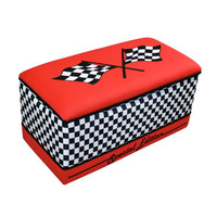 Komfy Kings, Inc 16003 Race Car Toy Box Red
