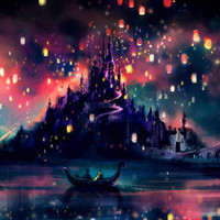 The Lights Stretched Canvas by Alice X. Zhang | Society6