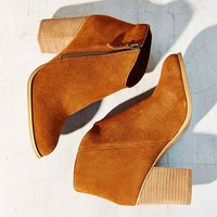Ecote Joey Side-Zip Suede Ankle Boot-