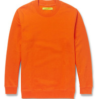 Raf Simons - Sterling Ruby Cotton-Jersey Sweatshirt | MR PORTER