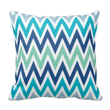 Blue Zigzag Pattern