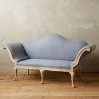 Linen Dreyma Parlor Sofa by Anthropologie