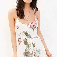 Somedays Lovin Vacancy Floral Romper- Cream