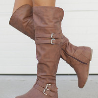 Riding High Boots Brown