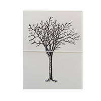 tree note cards