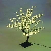 Creative Motion Desktop Cherry Blossom Tree Table Lamp with 64 Piece LED Lights