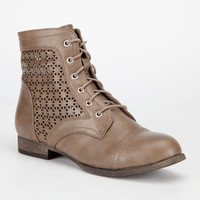 Diva Lounge Tosca Womens Boots Taupe  In Sizes