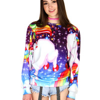 RAINBOW UNICORNS SWEATER