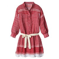 Rough Rugs: Red & White Leila K. Dress