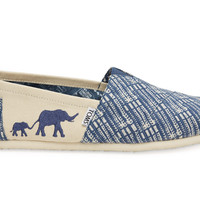 The TOMS Animal Initiative Elephant Blue Men's Classic US