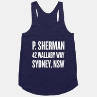 P. Sherman 42 Wallaby Way Sydney
