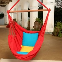 Brazilian Cotton Solid Colors Hammock Chair | www.hayneedle.com
