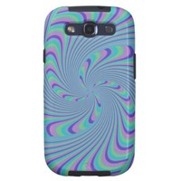 Spinning Top Abstract Galaxy SIII Case