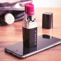 Kissable Lipstick Portable Charger