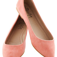 Defined the Scenes Flat in Coral