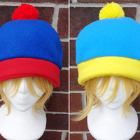 Stan or Cartman South Park Hat  - Costume, Halloween