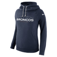 Nike Everyday Rally Funnel Pullover (NFL Broncos) Women's Hoodie