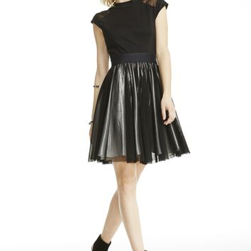 Cocktail Dress w/ Fitted Bodice