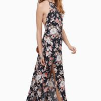 Falling Into Floral Dress $46