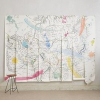 Tradewinds Wall Mural by Anthropologie Multi One Size Wall Decor