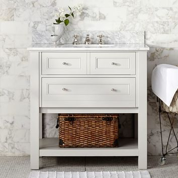 Classic Single Sink Console - Gray