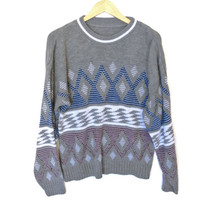 Diamonds are Forever Vintage 80s Ugly Cosby Sweater