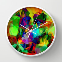 colors Wall Clock by Haroulita