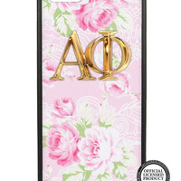Alpha Phi Pink Floral iPhone 5/5s Case