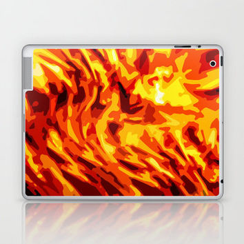 AFLAME Laptop & iPad Skin by catspaws