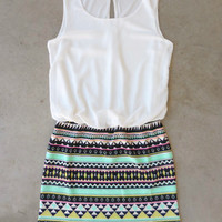 .White Meadowlight Dress [6756] - $42.00 : Feminine, Bohemian, & Vintage Inspired Clothing at Affordable Prices, deloom