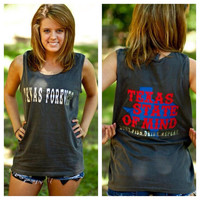 Texas state of mind tshirt