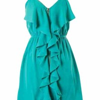 Jade Ruffle Dress