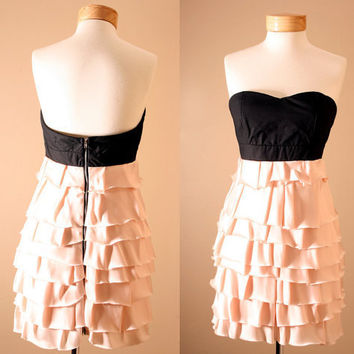 LOW STOCK Evan Corset Strapless Dusty Pink Princess by PYTboutique