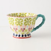 With A Twist Teacup by Anthropologie