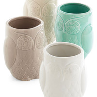 ModCloth Owls Owl Have Another Glass Set