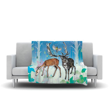 "Mat Miller ""Glade"" Fleece Throw Blanket"