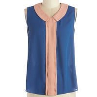 ModCloth Vintage Inspired Mid-length Sleeveless Magnificent Morning Top