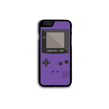 Nintendo GameBoy Color Phone Case for iPhone 4/4S/5/5S/5C/6/6+ and Samsung S3/S4/S5 in Hard Plastic/Rubber FREE STANDARD SHIPPING!