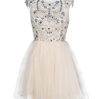 Dresstells Stunning Short Homecoming Dress Cocktail Dress with Beads
