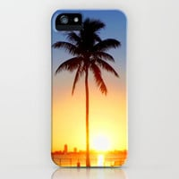 Miami Sunrise iPhone Case by JT Digital Art  | Society6