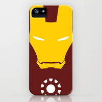 Iron Man Minimalist iPhone Case by Adrian Mentus | Society6