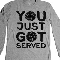 Heather Grey T-Shirt | Fun Volleyball Shirts